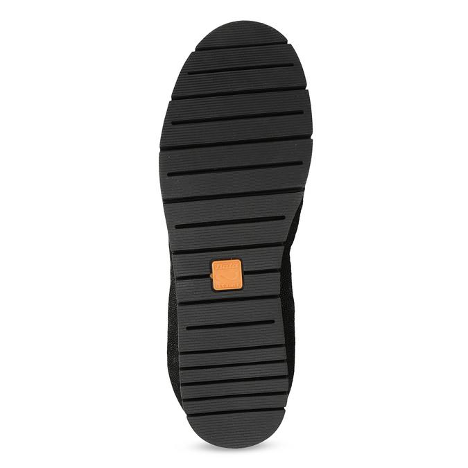 Damskie baletki skórzane czarne flexible, czarny, 526-6663 - 18