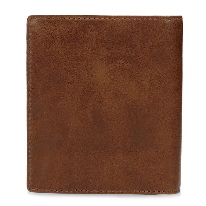 Brązowy skórzany portfel męski bata, brązowy, 944-3217 - 16