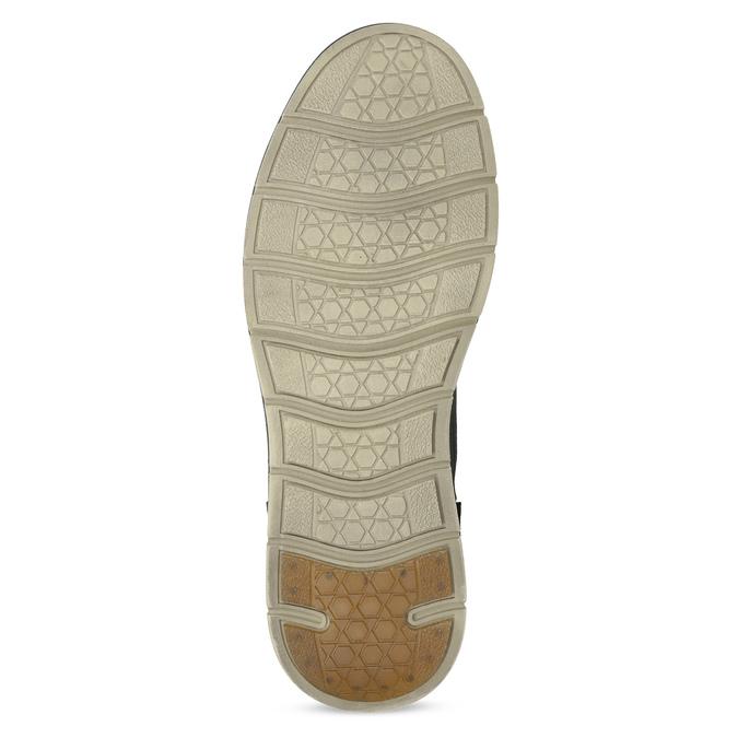 Skórzane obuwie męskie za kostkę, zprzeszyciami weinbrenner, szary, 846-6719 - 18