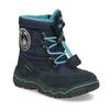 Granatowe zimowe obuwie dziecięce, niebieski, 199-9604 - 13