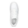Białe trampki damskie zprzeszyciami nike, biały, 501-1130 - 17