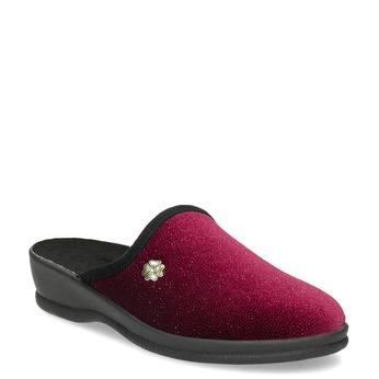 Czerwone kapcie damskie bata, czerwony, 579-5631 - 13