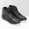 Czarne skórzane obuwie męskie za kostkę bata, czarny, 896-6712 - 26