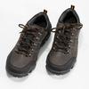 Skórzane obuwie męskie na grubej podeszwie weinbrenner, brązowy, 846-4806 - 16