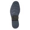 Skórzane obuwie męskie za kostkę, zfuterkiem bugatti, czarny, 826-6030 - 18