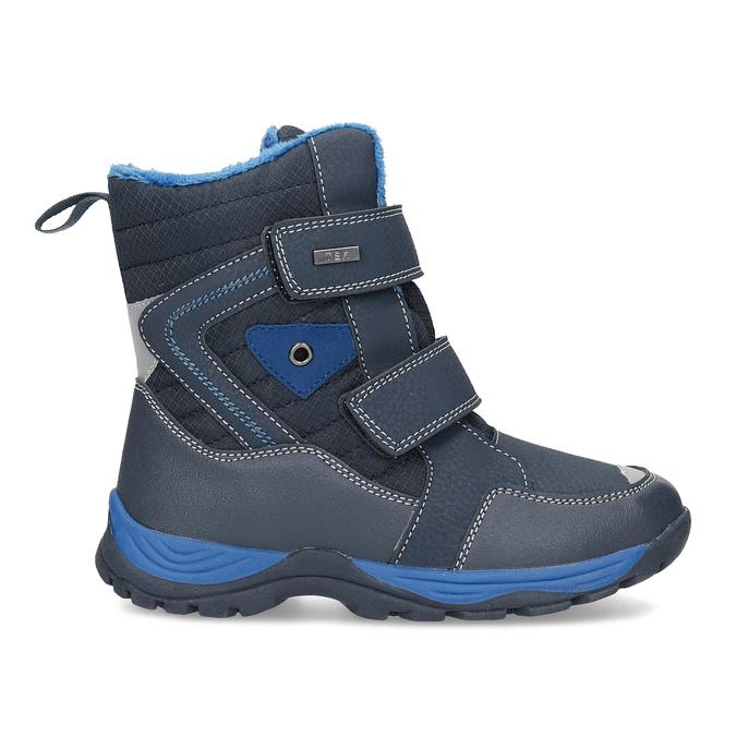 Zimowe buty dziecięce na rzepy mini-b, niebieski, 491-9653 - 19