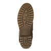 Brązowe kozaki damskie zklamrami bata, brązowy, 691-4643 - 18