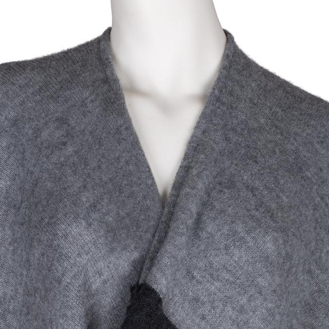 Ponczo damskie zmateriału tekstylnego bata, multi color, 909-0647 - 17