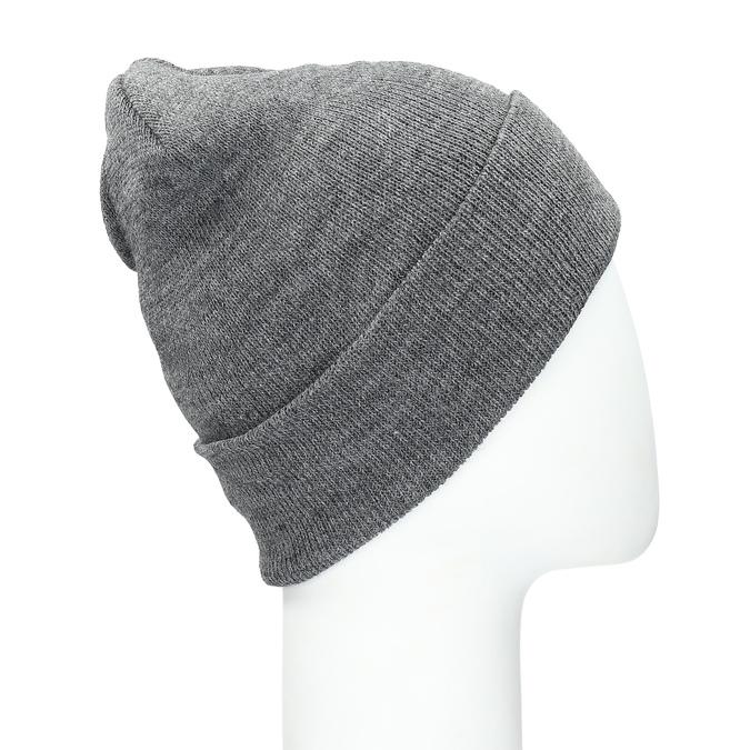 Dzianinowa czapka wywijana bata, multi color, 909-0490 - 16