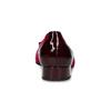 Bordowe aksamitne baleriny gabor, czerwony, 629-5106 - 15