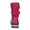 Czerwone śniegowce damskie na czarnej podeszwie bata, czerwony, 599-5625 - 15