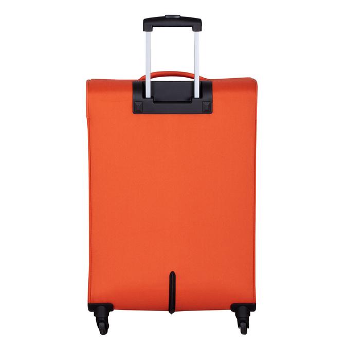 Pomarańczowa walizka zmateriału tekstylnego american-tourister, pomarańczowy, 969-8172 - 26
