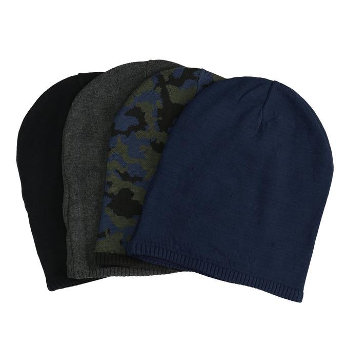 Dzianinowa czapka bata, multi color, 909-0487 - 13