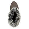 Brązowe skórzane śniegowce damskie weinbrenner, brązowy, 593-4603 - 17