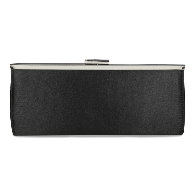 Czarna kopertówka damska na łańcuszku bata, czarny, 969-6811 - 26