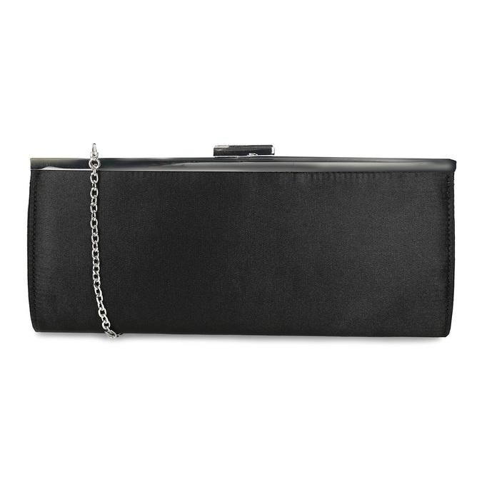 Czarna kopertówka damska na łańcuszku bata, czarny, 969-6811 - 16