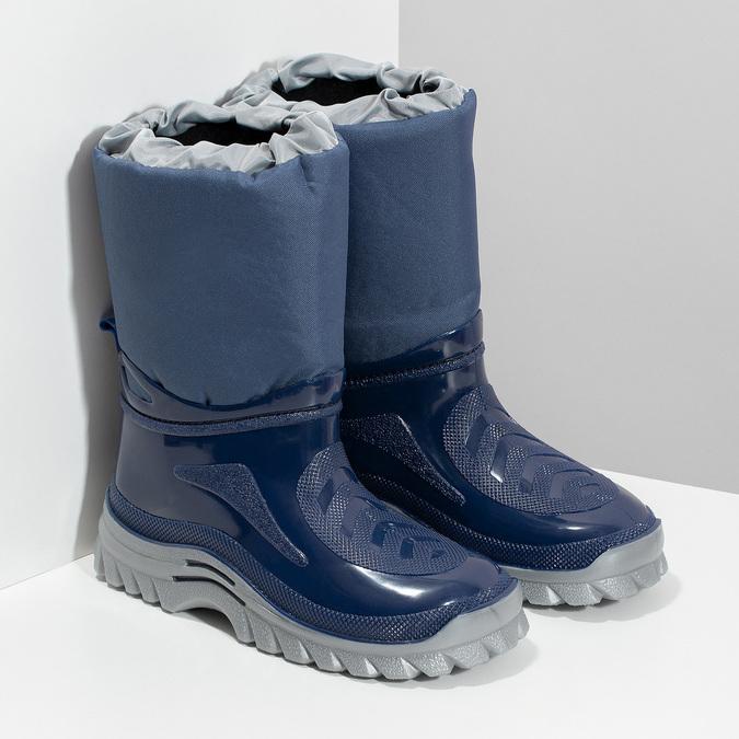 Granatowe śniegowce mini-b, niebieski, 392-9301 - 26