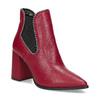 Czerwone botki typu chelsea bata, czerwony, 794-5609 - 13