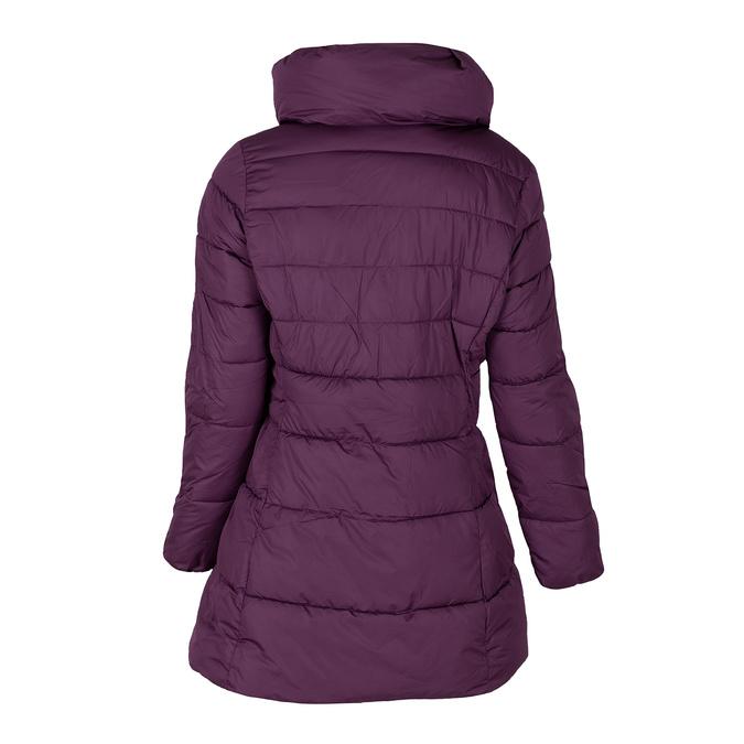 Długa fioletowa pikowana kurtka damska bata, fioletowy, 979-0348 - 26