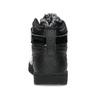 Czarne trampki damskie za kostkę nike, czarny, 501-6944 - 15