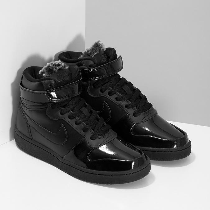 sprzedaż hurtowa uroczy tak tanio Nike Czarne trampki damskie za kostkę