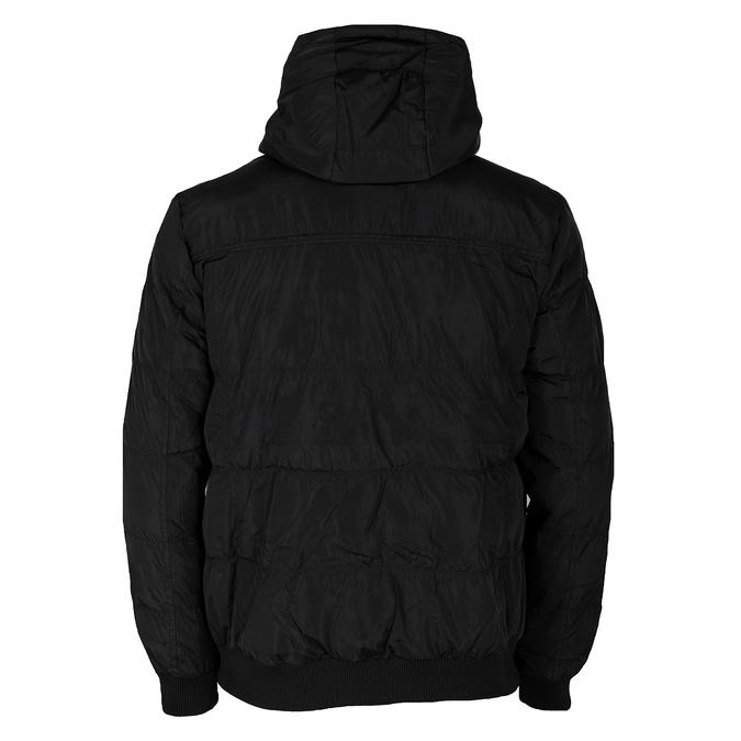 Czarna kurtka męska zkapturem bata, czarny, 979-6387 - 26