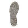 Wysokie skórzane obuwie damskie weinbrenner, szary, 596-2746 - 18