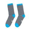 Dziecięce skarpetki wpaski bata, niebieski, 919-9688 - 26
