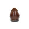 Brązowe skórzane półbuty męskie conhpol, brązowy, 826-4708 - 15