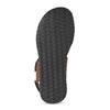 Brązowe skórzane sandały męskie bata, brązowy, 866-4633 - 18