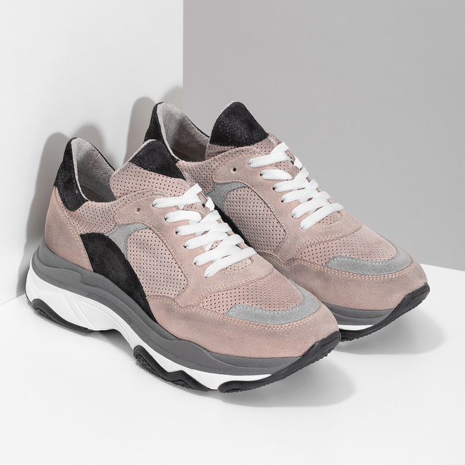 5235601 bata, różowy, 523-5601 - 26