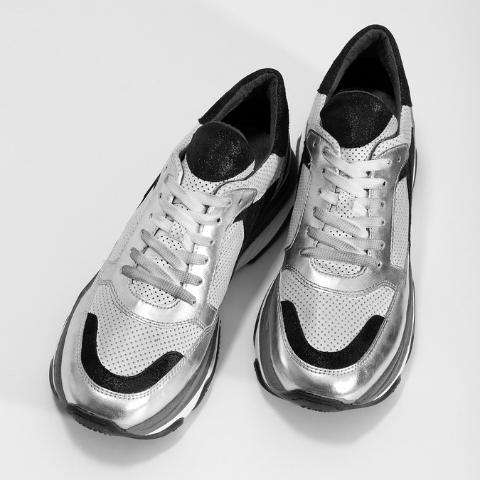 5261601 bata, srebrny, 526-1601 - 16