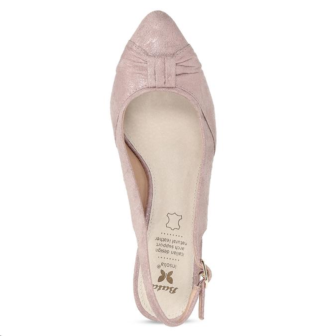 6295655 bata, różowy, 629-5655 - 17