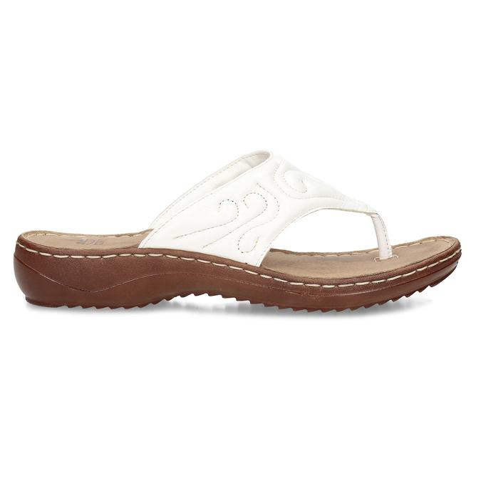 5661600 bata, biały, 566-1600 - 19