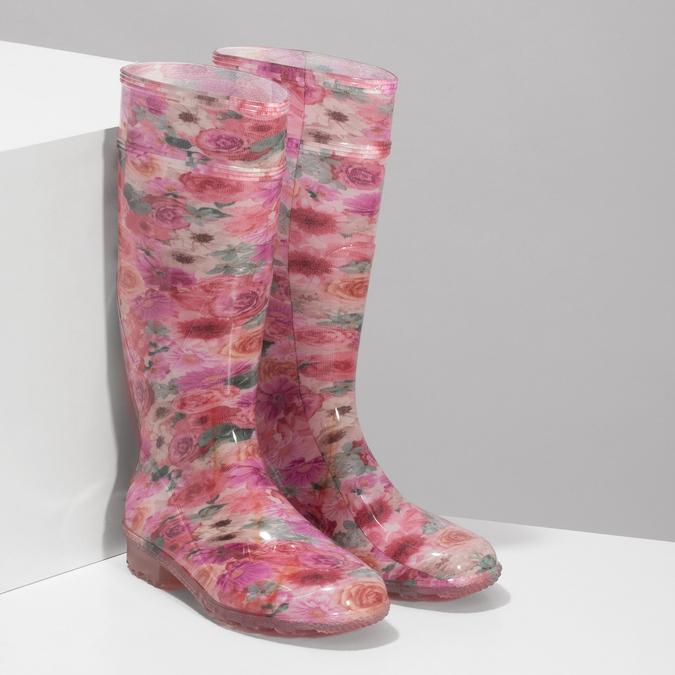 5920621 bata, różowy, 592-0621 - 26