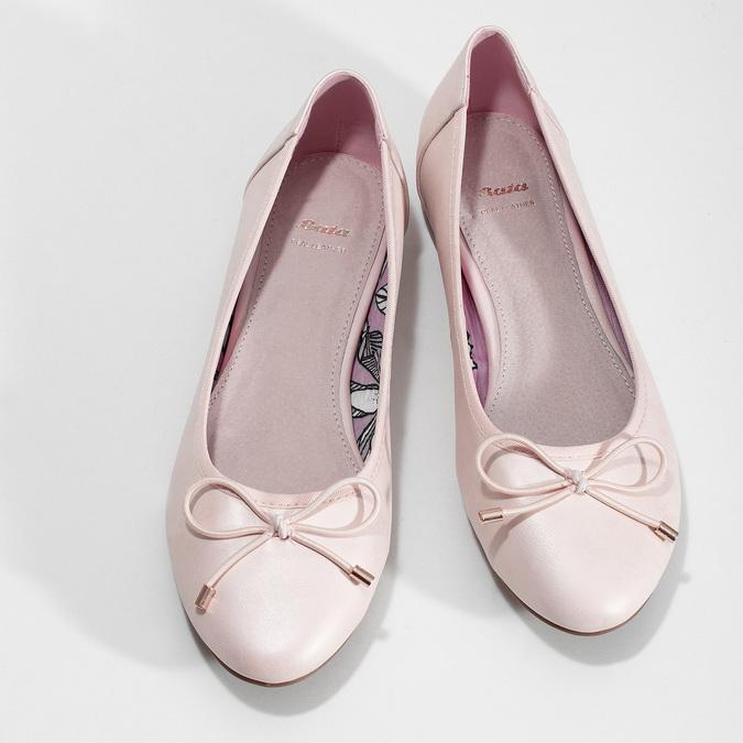 5218650 bata, różowy, 521-8650 - 16