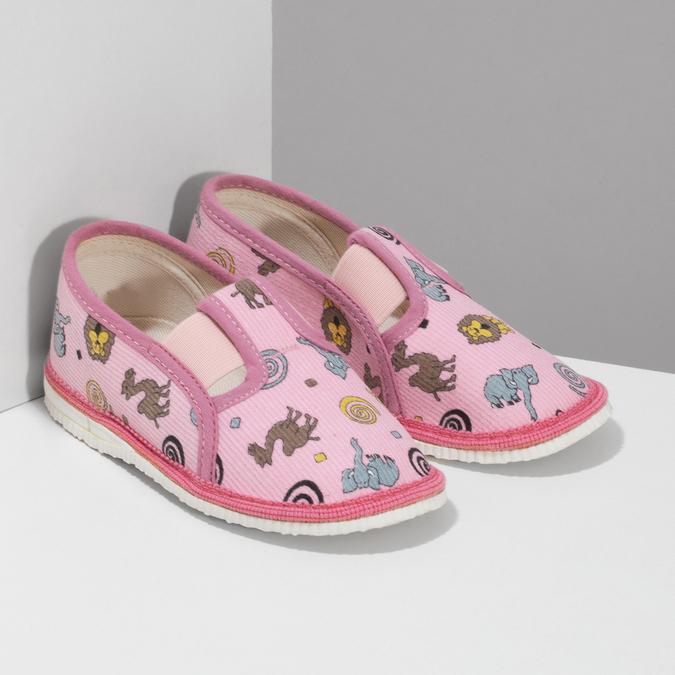 1795631 bata, różowy, 179-5631 - 26