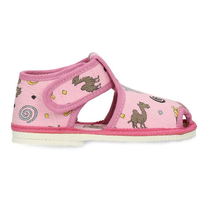 1795630 bata, różowy, 179-5630 - 19