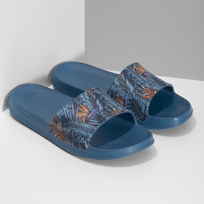Nieformalne klapki męskie coqui, niebieski, 872-9658 - 26