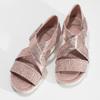 5615606 bata, różowy, 561-5606 - 16